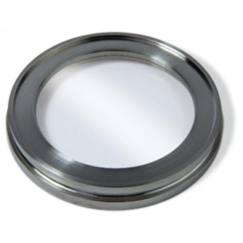 Смотровое окно ISO100, нерж. ст. SS304, боросиликатное стекло 7056 (kodial)