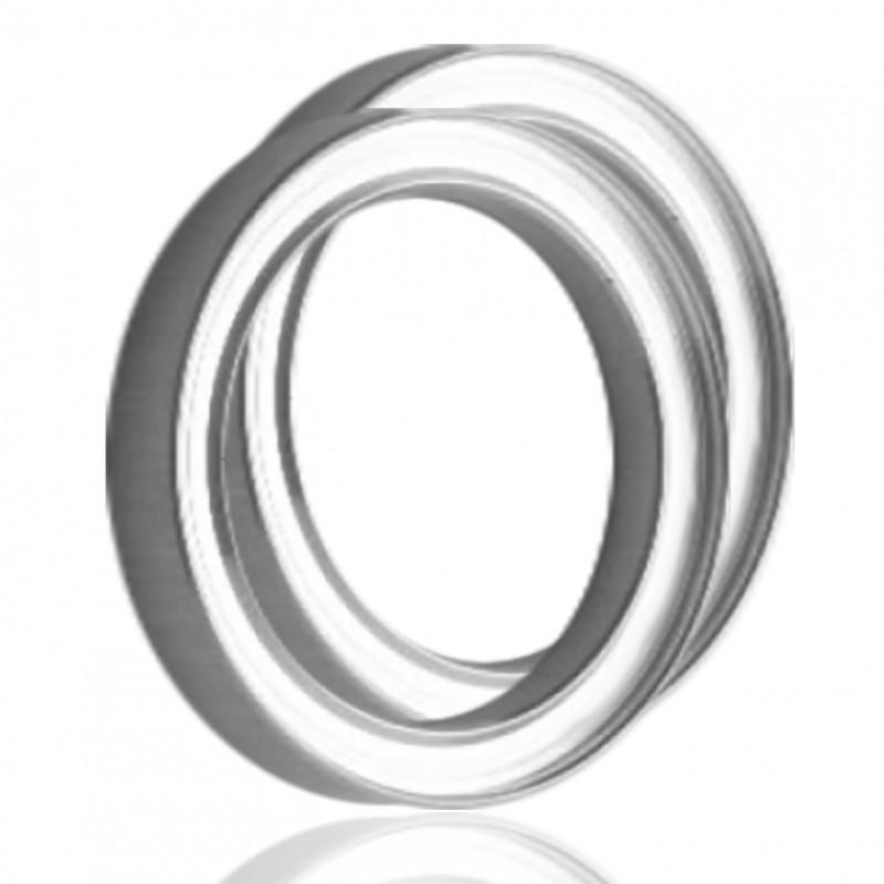 Уплотнительные кольца UHV для KF и ISO-K (алюминий)
