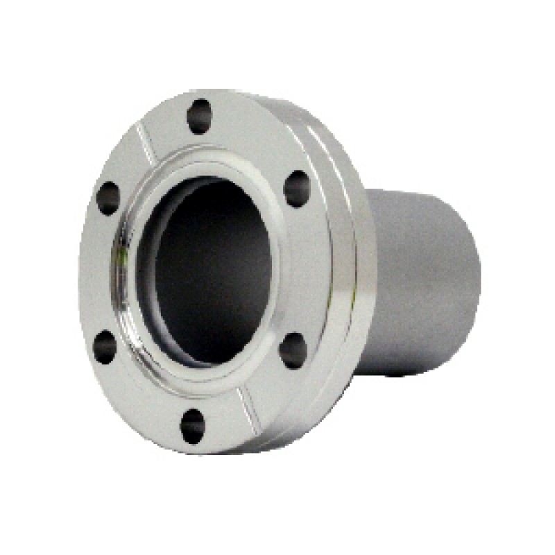 Патрубок под сварку CF63, L=85,85 мм (нержавеющая сталь)