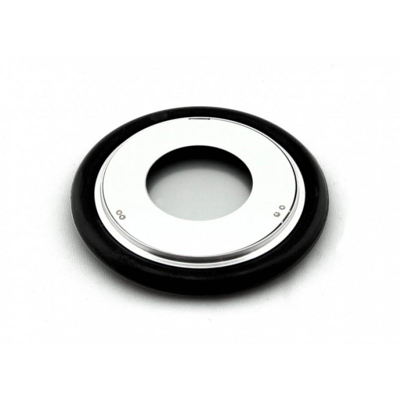 ZZCH040 Кольцо центрирующее KF40 (NW40) с витоновым уплотнением и экраном, нержавеющая сталь, пр-во Thyracont