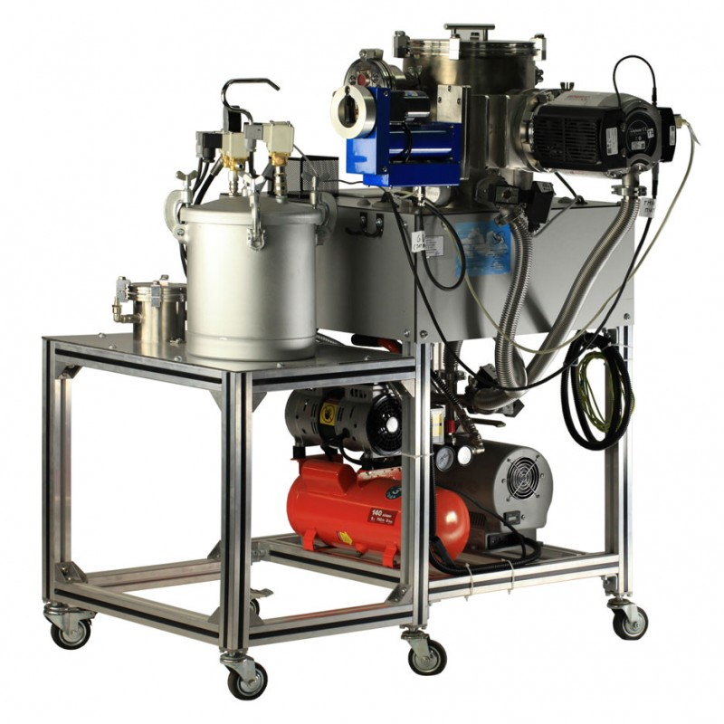 Установка для вакуумных/пневматических испытаний и опресовки гелием
