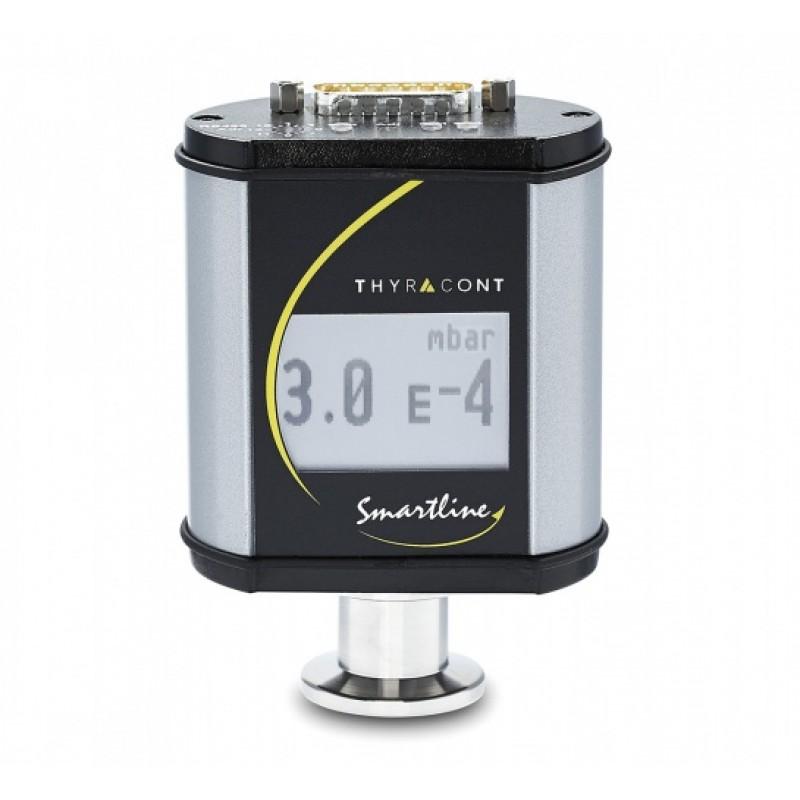 VSR54DL Комбинированный вакуумный пьезорезистивный датчик/датчик Пирани с дисплеем на фланце CF16, выходной сигнал 0-10 В логарифмический и цифровой интерфейс RS485, 1200-1е-4 мбар