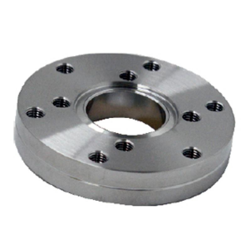 Нулевой переходник с CF63 (c резьбой) на CF50 (с резьбой), нерж. сталь AISI 304