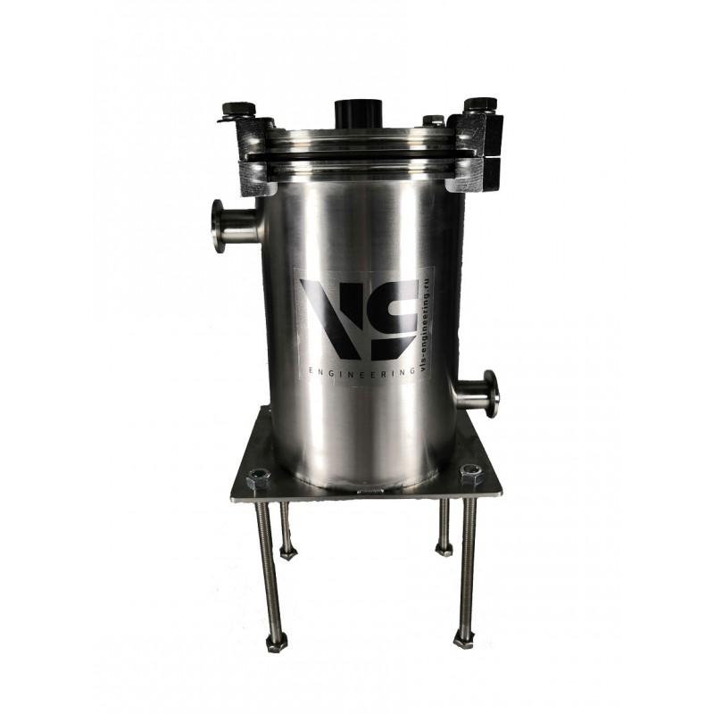 Ловушка азотная, объем 2 литра, кол-во фланцев KF25 - 2 шт (на ножках) нерж. сталь