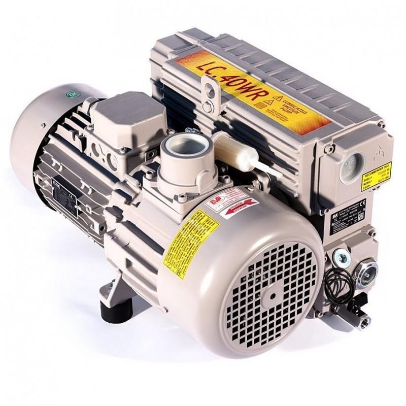 Пластинчато-роторный вакуумный насос DVP LC.40 WR