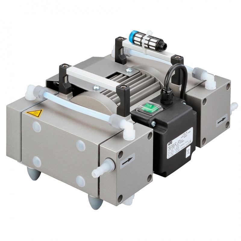 Мембранный вакуумный насос Welch (Ilmvac) MP 201 T, 2 м3/ч, вакуум до 2 мбар