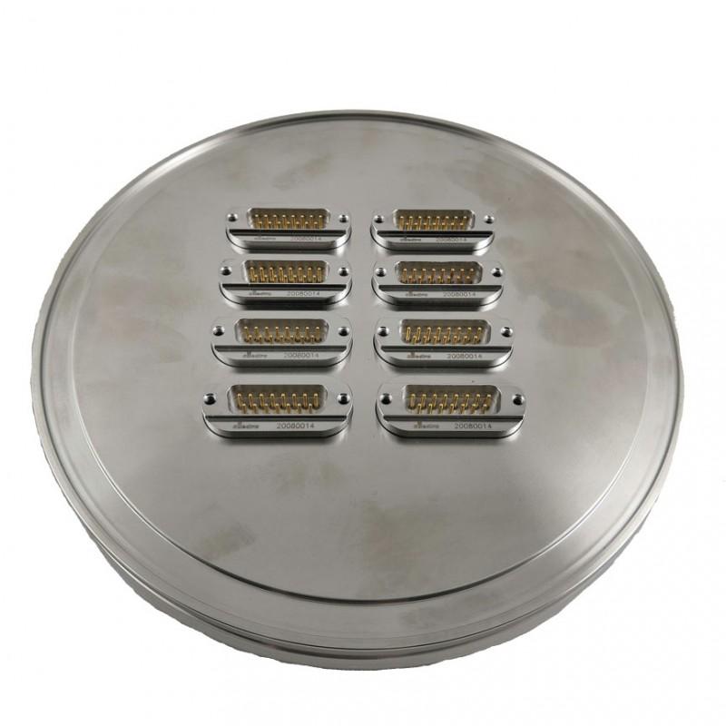Вакуумные вводы DSUB 15 pin на фланце ISO-K 160