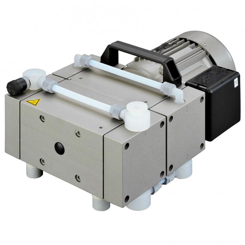 Мембранный вакуумный насос Welch (Ilmvac) MPC 601 T, 4,5 м3/ч, вакуум до 2 мбар, химически стойкий