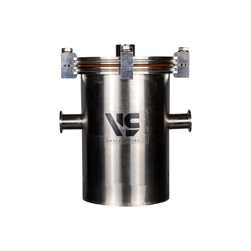 Ловушка азотная заливная KF25, объем 2 литра, кол-во фланцев KF25 - 2 шт, нерж. сталь