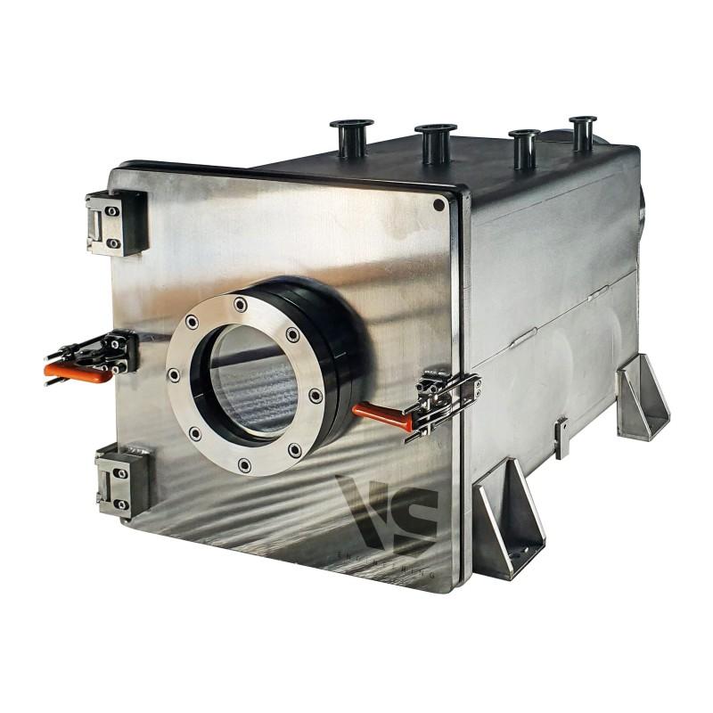Вакуумная камера 300х300х300 мм (нерж. сталь)