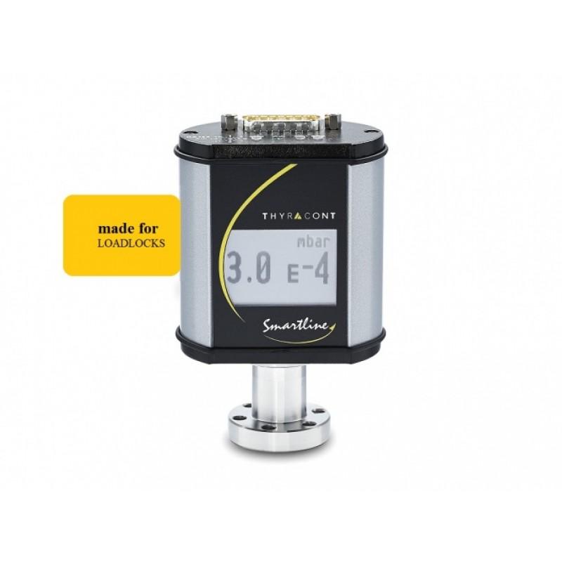 VSL54DL Комбинированный вакуумный пьезорезистивный датчик/датчик Пирани с дисплеем на фланце CF16, выходной сигнал 0-10 В логарифмический и цифровой интерфейс RS485, абсолютное давление 1200-1е-4 мбар и относительное давление от -1260 до 940 мбар