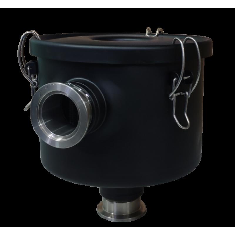 Фильтр входной IFM-50 для вакуумных пластинчато-роторных насосов ADVAVAC-75/90 в металлическом корпусе, фланец KF40