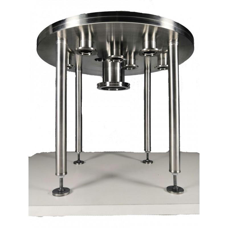 Плита под вакуумный колпак ISO63-6xKF25 (нерж. сталь)