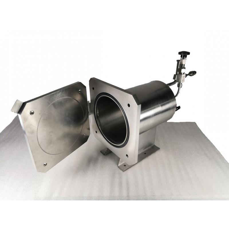 Вакуумная/опрессовочная камера для гелиевого течеискателя
