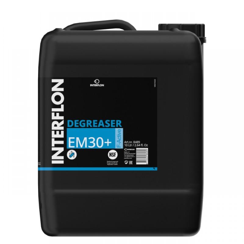 Высококачественный обезжириватель для пищевой промышленности Interflon Degreaser EM30+