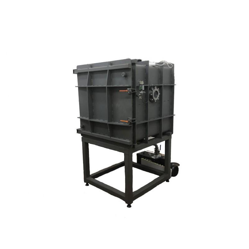 Вакуумная камера 1000х1000х1000 мм (углеродистая сталь 30)