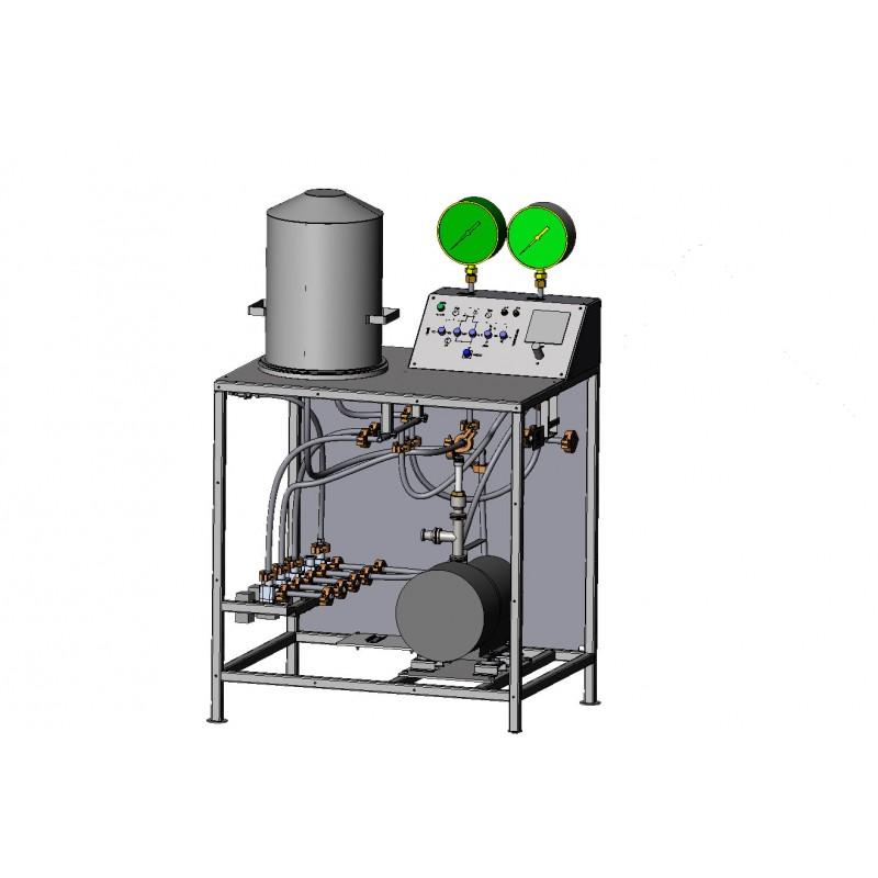Универсальная приставка для проверки герметичности изделий