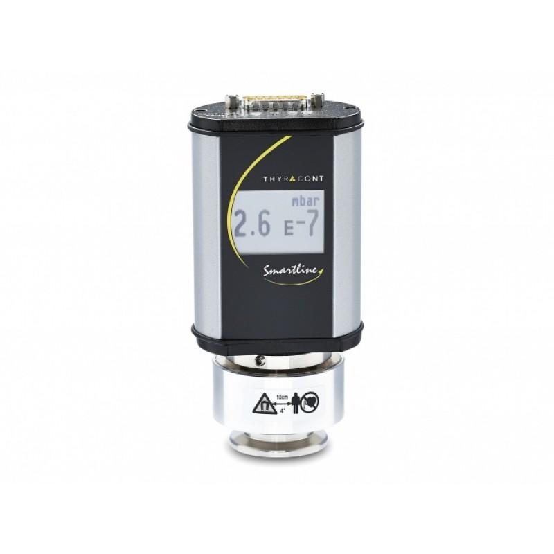VSI18DL Вакуумный датчик с холодным катодом с дисплеем на фланце KF40, выходной сигнал 0-10 В логарифмический и цифровой интерфейс RS485, 2e-3-5e-9 мбар