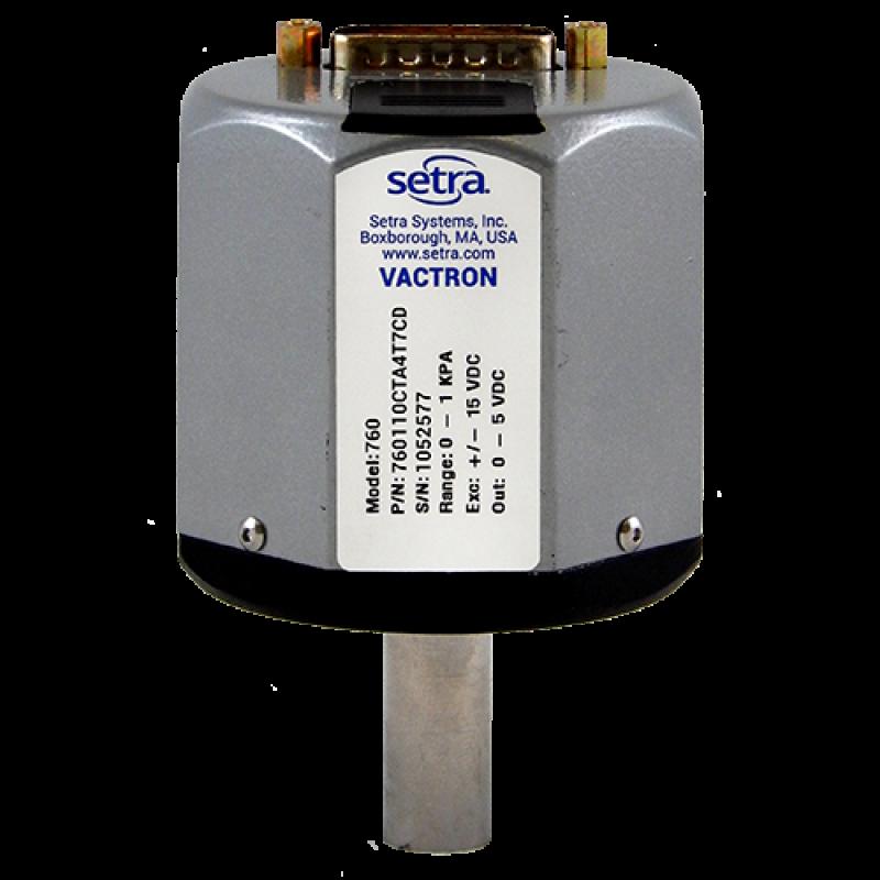 Вакуумный емкостной датчик Setra Vactron 760