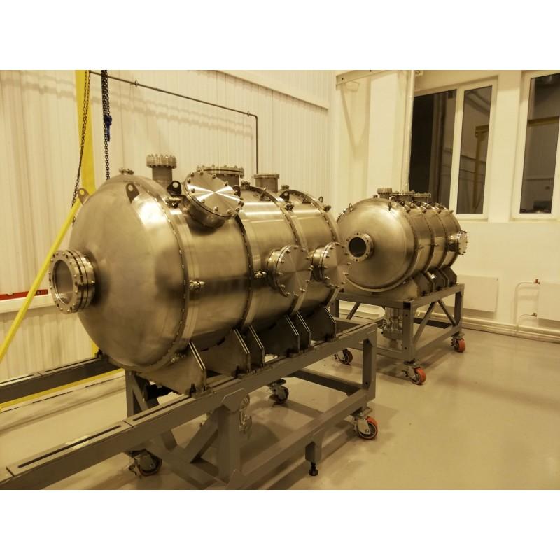 Высоковакуумная термобарокамера 1 м3 для имитации космического пространства