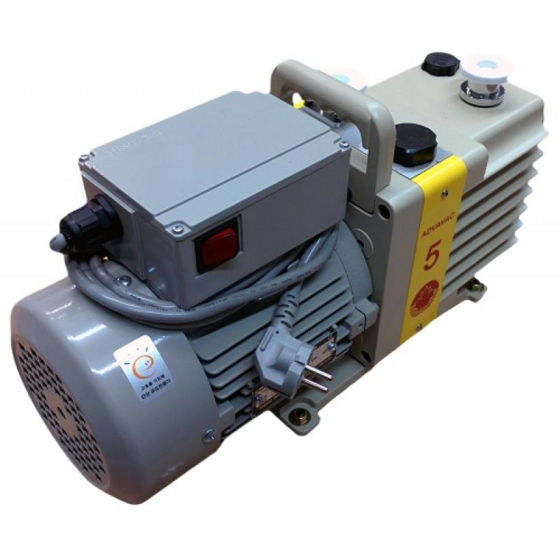 Насос вакуумный пластинчато-роторный двухступенчатый ADVAVAC-5, трехфазный, 220/380В
