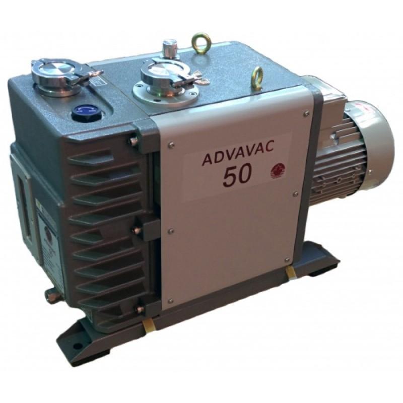 Насос вакуумный пластинчато-роторный двухступенчатый ADVAVAC-50, трехфазный, 220/380В
