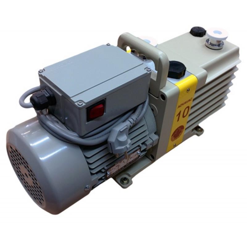Насос вакуумный пластинчато-роторный двухступенчатый ADVAVAC-10, однофазный, 220В-