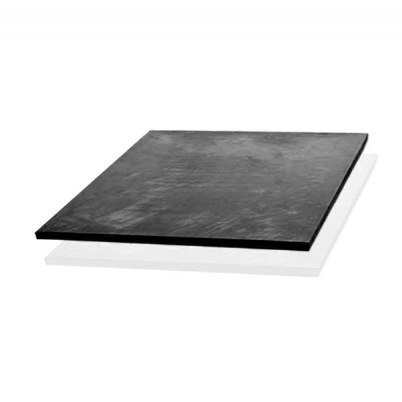 Пластина из жесткого многослойного углевойлока на основе ПАН волокна, покрытие - графитовая фольга