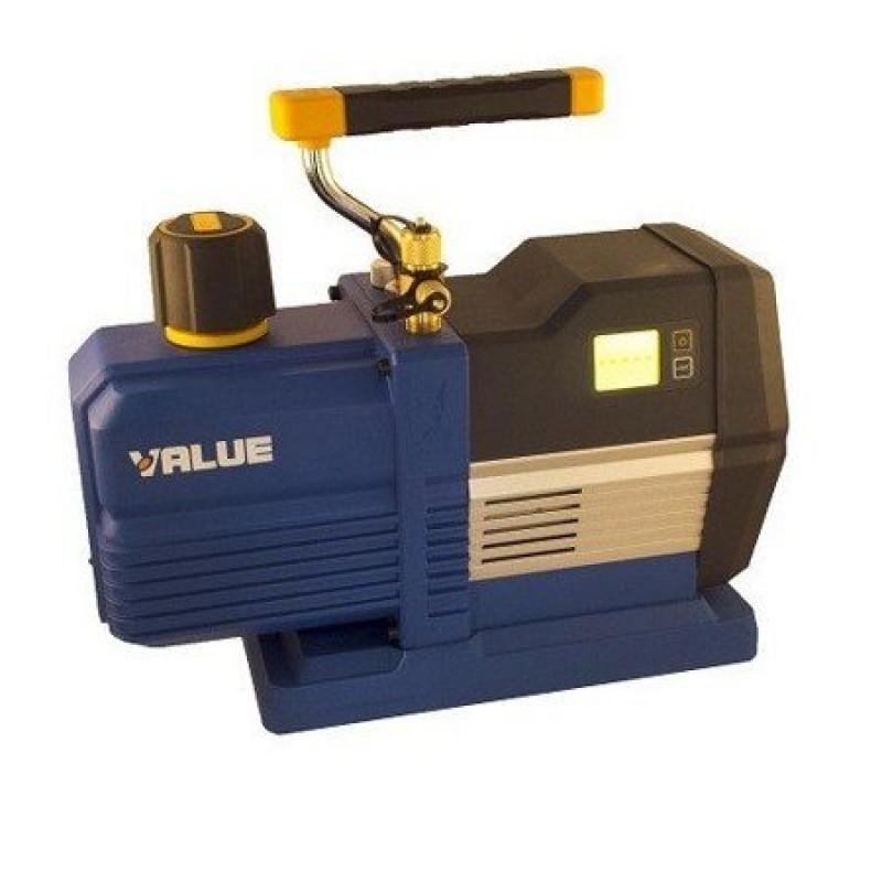 Вакуумный двухступенчатый насос Value VRP-6DI (170 л/мин) с электронным вакуумметром