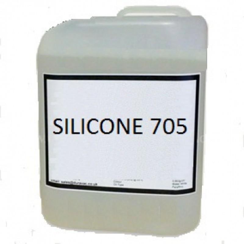 Силиконовое масло для диффузионных насосов Silicone 705 5 л