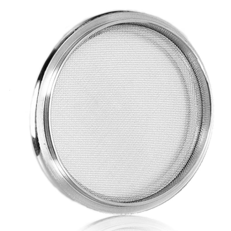 Центрирующее кольцо с сеткой KF50