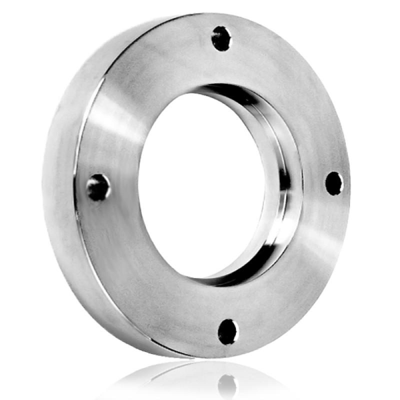 Фланец под сварку ISO-F 500 (нержавеющая сталь)
