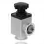 Угловой клапан GD-J16 KF16 ручной, витоновое уплотнение (алюминий)