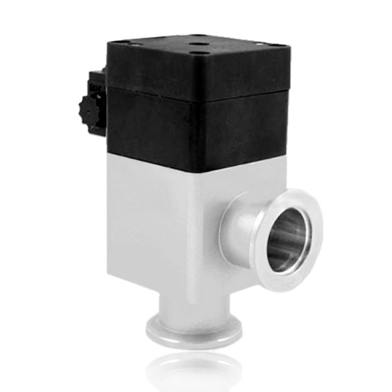 Угловой клапан GDQ-J50 KF50 с пневмоприводом, витоновое уплотнение (алюминий)