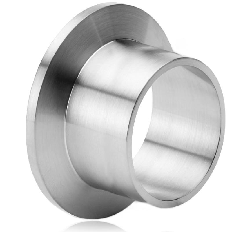 Патрубок под сварку KF40, L=70 мм ( нержавеющая сталь )