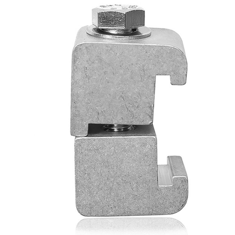Струбцина двойная ISO160-250 M10 ( алюминий )